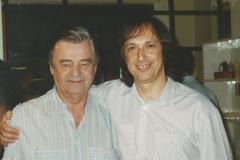 Con Nicola Di Staso, grande chitarrista e amico