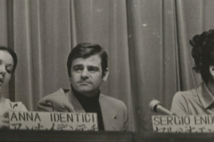 Giappone 1970. In conferenza stampa con Anna Identici