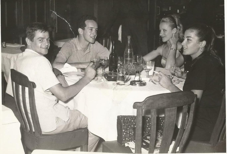 Egitto settembre 1964. Con il cugino Roberto e sua moglie Liett
