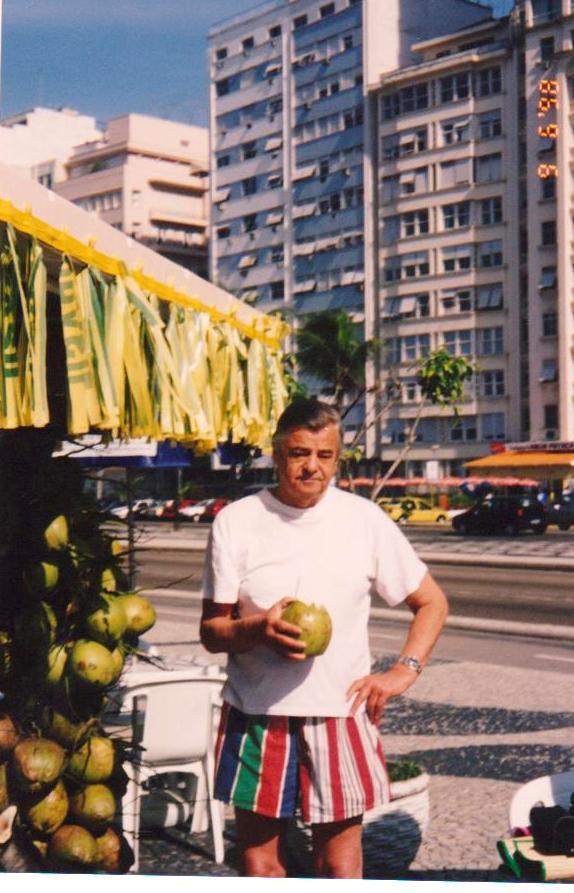 Papà in vacanza in Brasile
