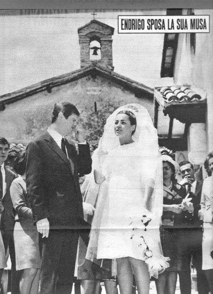 il loro matrimonio 11 giugno 1963