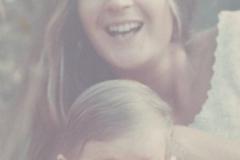 1965. Io e la mia stupenda mamma Lula