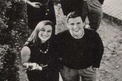 Papi, mamma, sua sorella Donella e Riccardo Del Turco