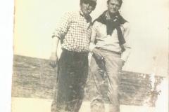 Col suo amico Giovanni