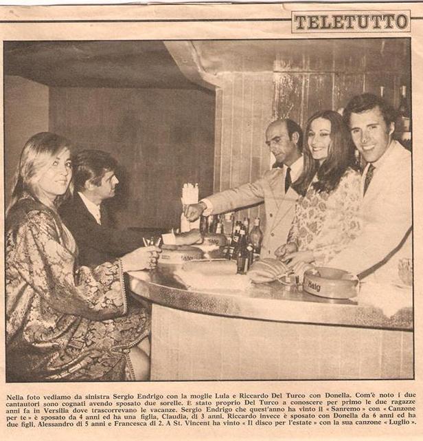 Con Riccardo Del Tirco e sua moglie Donella,sorella di mamma