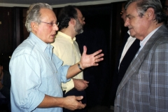 Con Jannacci ed Enrico De Angelis