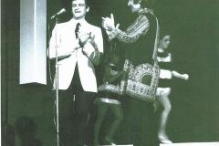 Con Roberto Carlos