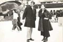 Giappone 1970. Papà e Anna Identici