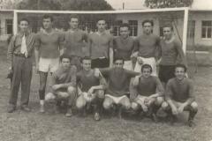 Papà calciatore 1955