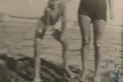 Pola 1941. Papà e sua mamma