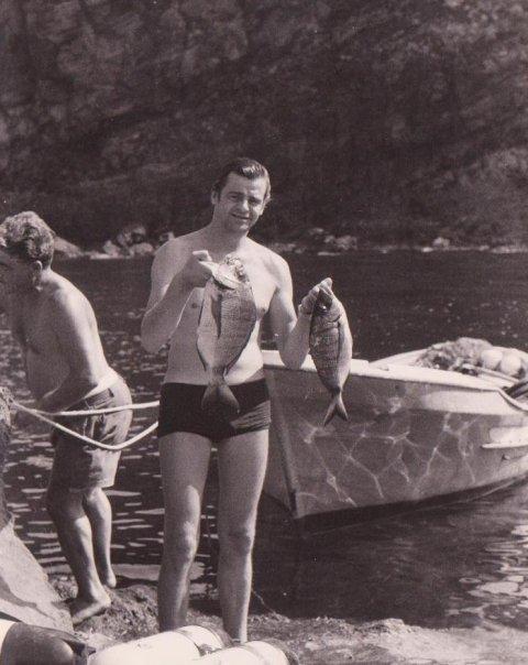 Papà e i saraghi di Pantelleria