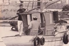 Papà e Giovanni sulla Santa Barbara